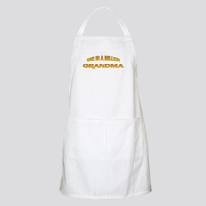 One In A Million Grandma BBQ Apron