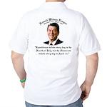 Reagan Republicans vs. Democrats Golf Shirt