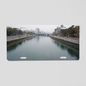 Ota River Aluminum License Plate