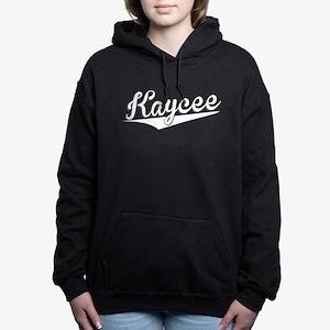 Kaycee, Retro, Women's Hooded Sweatshirt
