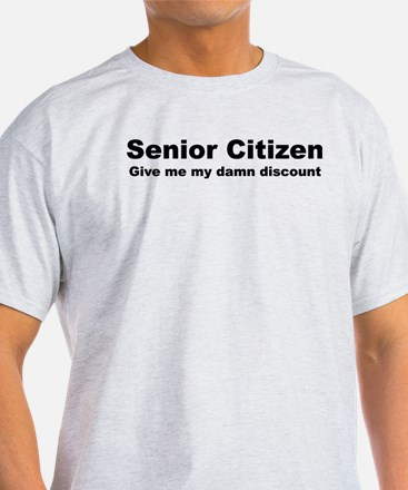 Senior Citizen Discoun T-Shirt