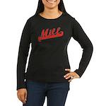 Milf Women's Long Sleeve Dark T-Shirt