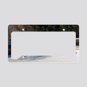 kare-sansui rock garden License Plate Holder