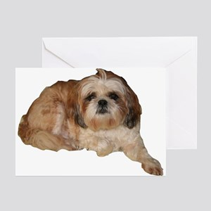 It's all about the Shih Tzu. Greeting Cards (Packa