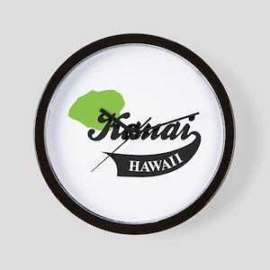 Kauai HAWAII Wall Clock