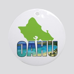 OAHU Ornament (Round)