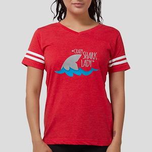 Crazy Shark Lady T-Shirt