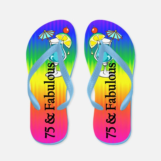 Trendy 75th Flip Flops