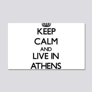 Keep Calm and live in Athens Wall Decal