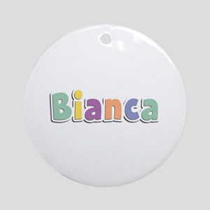 Bianca Spring14 Round Ornament