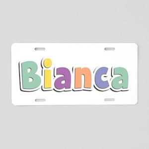 Bianca Spring14 Aluminum License Plate