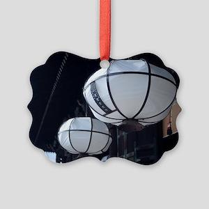 Nigatsu-do paper lanterns Picture Ornament