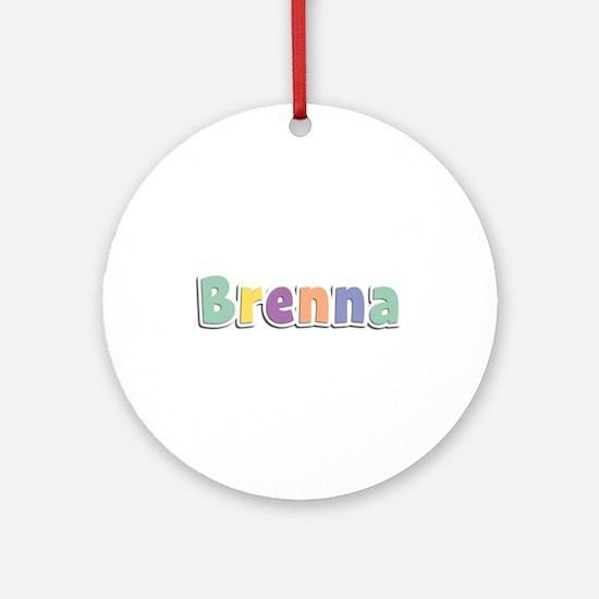 Brenna Spring14 Round Ornament