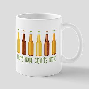 Happy Hour Starts Here Mugs