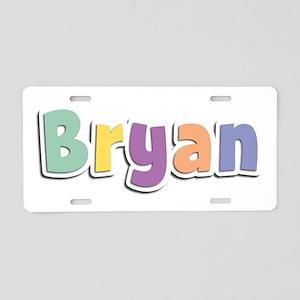 Bryan Spring14 Aluminum License Plate