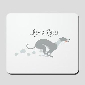 Let's Race! Mousepad