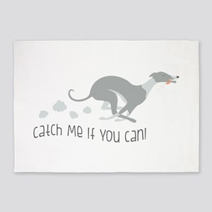Catch Me If You Can! 5'x7'Area Rug