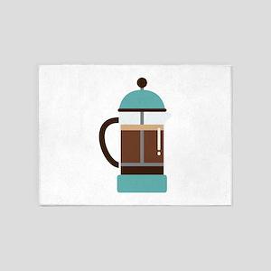 Coffee Maker 5'x7'Area Rug