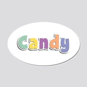 Candy Spring14 20x12 Oval Wall Decal