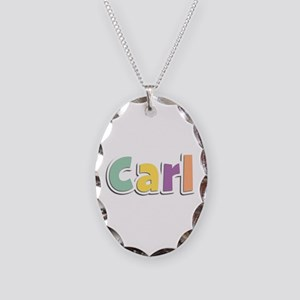 Carl Spring14 Oval Necklace