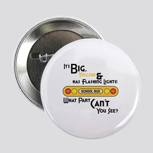 """Big And Yellow 2.25"""" Button"""