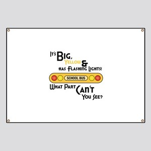 Big And Yellow Banner