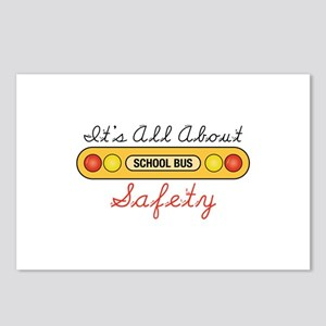 Its All About Safety Postcards (Package of 8)