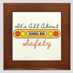 Its All About Safety Framed Tile