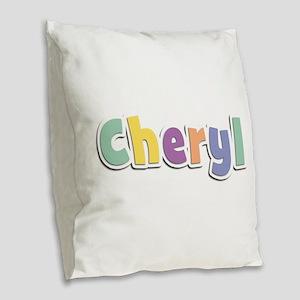Cheryl Spring14 Burlap Throw Pillow