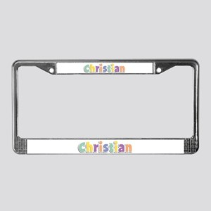 Christian Spring14 License Plate Frame
