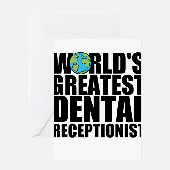 World's Greatest Dental Receptionist Greeting