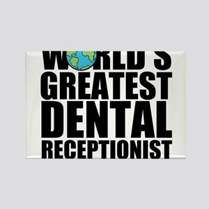 World's Greatest Dental Receptionist Magnets