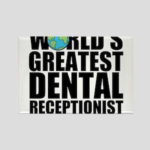 World's Greatest Dental Receptionist Magnets