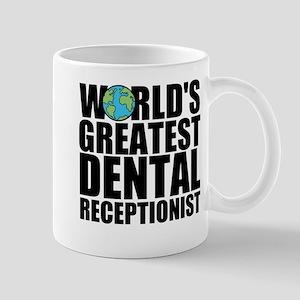 World's Greatest Dental Receptionist Mugs