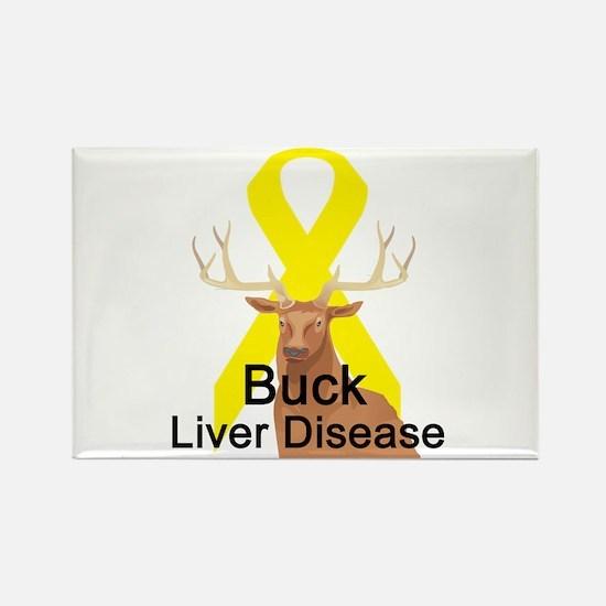 Liver disease Rectangle Magnet