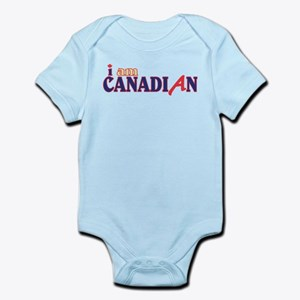 I Am Canadian Infant Bodysuit