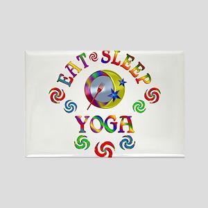 Eat Sleep Yoga Magnets