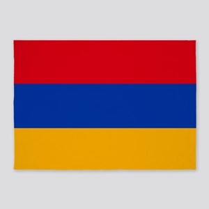 Flag of Armenia 5'x7'Area Rug