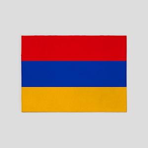 Flag of Armenia 5'x7'Area Rug