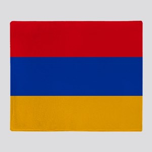 Flag of Armenia Throw Blanket
