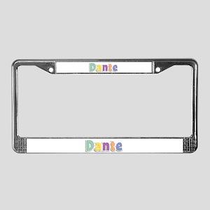 Dante Spring14 License Plate Frame