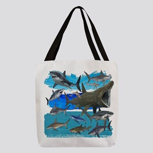 THESE WATERS Polyester Tote Bag