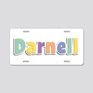 Darnell Spring14 Aluminum License Plate