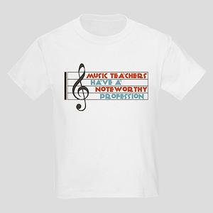 Music Teacher Kids Light T-Shirt