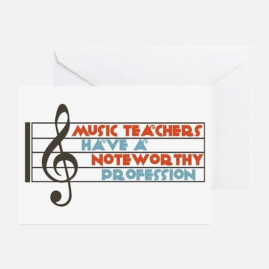 Music Teacher Greeting Cards (Pk of 10)