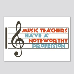 Music Teacher Postcards (Package of 8)