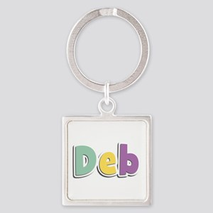 Deb Spring14 Square Keychain