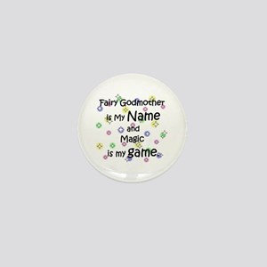 Fairy Godmother Name Mini Button