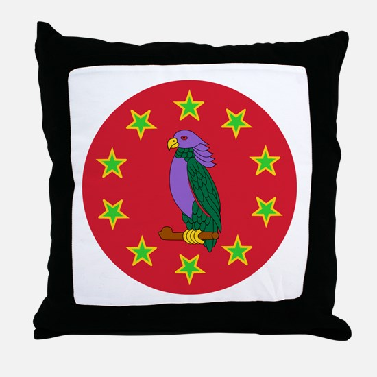 Sisserou Parrot Throw Pillow
