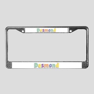 Desmond Spring14 License Plate Frame